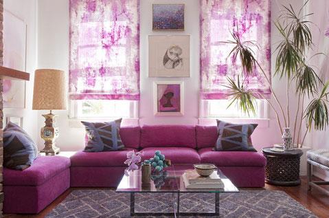 Radiant Orchid Interior