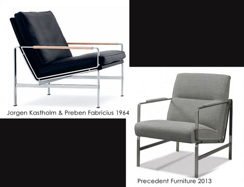 Chair 1964 and present replication.