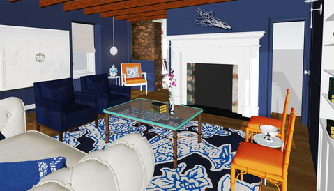 Rendering of The Lounge #2