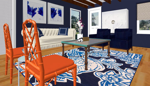 Rendering of the Lounge #1