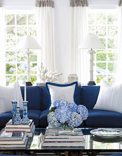 Blue and white- timeless combination