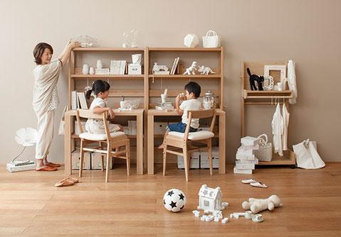 ボナ シェルタ デスク カリモク 栃木県 家具 学習机 リビング