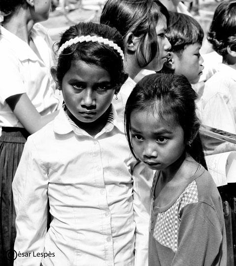 Cette photo est à la fois effrayante et puissante, où que je pose les yeux, il y a de la force à photographier, des portraits à faire