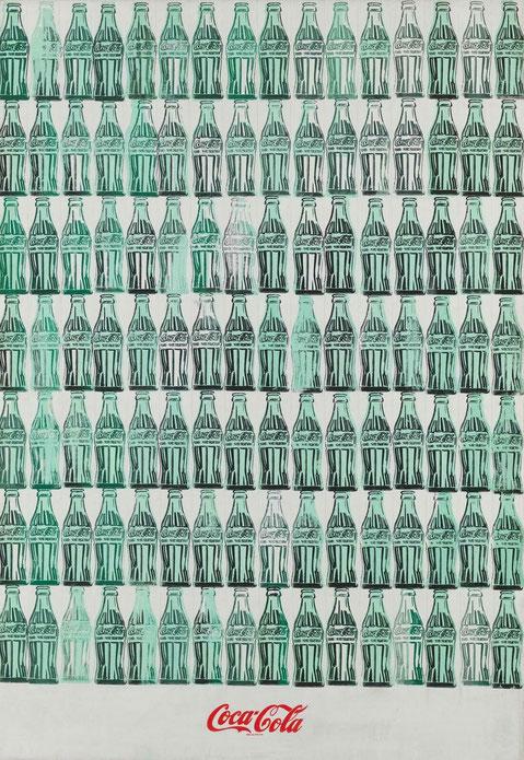 Зеленые бутылки кока-колы - Энди Уорхол