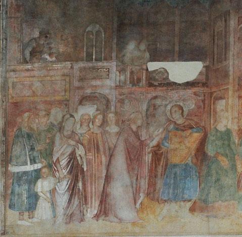 Andrea di Firenze - Rainier en troubadour- Pise Campo Santo