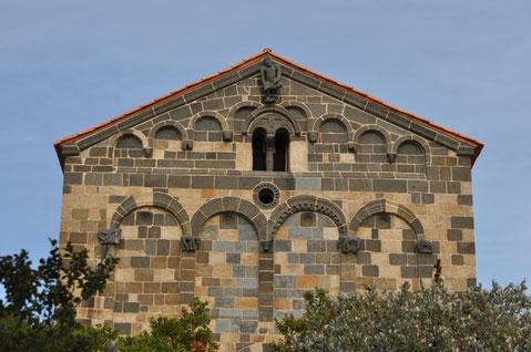 Aregno, Eglise de la Trinité et Saint-Jean-Baptiste- début XIIe s.