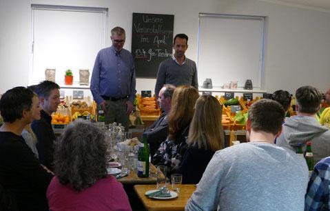 René Rammelt Ginthusiast Oliver Tasting in Ohe. Veranstaltung Gutschein Geschenkidee Ticket Bio Gemüse