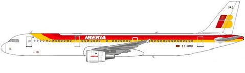 Airbus A321-200 im Farbkleid der Iberia/Courtesy: MD-80.com