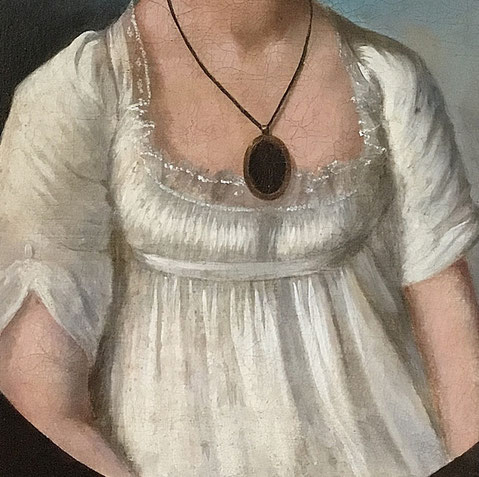 Portrait of Ann Dorr late 1800's