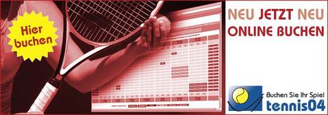 Tennisplätze online buchen