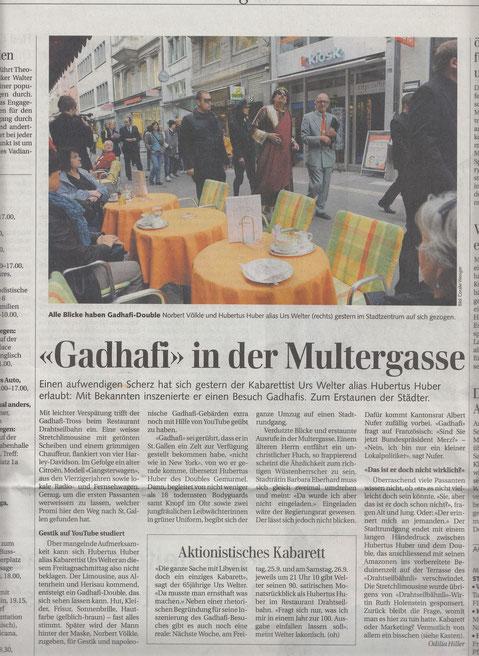St. Galler Tagblatt 2009