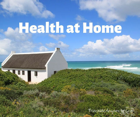 Health at Home - house overlooking the ocean