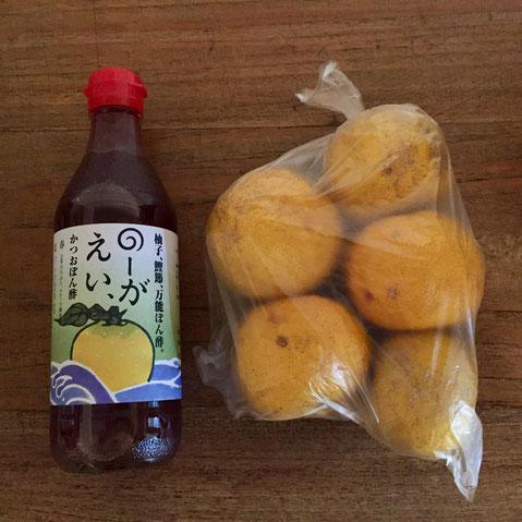 ポン酢は「味ぽん」派ですけどたまに本格的なヤツを使いたくなるんですよね~、、これからの時期ありがたいです♪ 柚子は「柚子こょう用に♪」と、、、頑張って作ってみます!