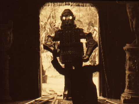 L'Uomo meccanico (titre US : The Mechanical Man), 1921, André Deed, Italie