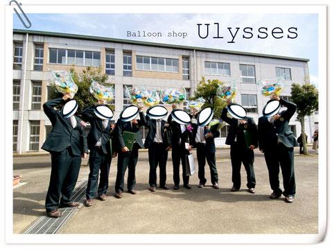 茨城県つくば市 バルーンショップユリシス ギフト サッカーボール 卒業 卒団 卒園 先生 先輩へ 卒業生
