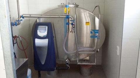 Milchkühltank
