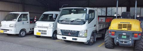 未経験者用仕事紹介 株式会社田村工業所 駐車場写真