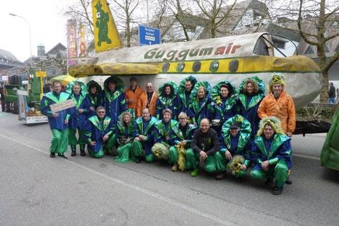 "Fasnacht 2011 ""Füür u Flamme"""
