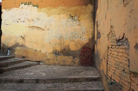 Photographie, Andalousie, Grenade, Albaicin, graffiti, art, architecture,rues, couleurs, médina, quartier, Mathieu Guillochon