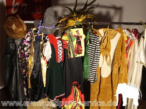 faschingskostüm mieten kostümverleih kostüm ausleihen oberhavel eventservice zeltverleih partyservice marwitz