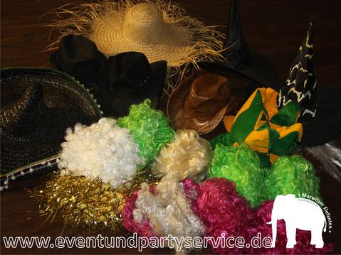 perücke ausleihen perücke mieten leihen faschingskostüm mieten kostümverleih kostüm ausleihen oberhavel eventservice zeltverleih partyservice marwitz