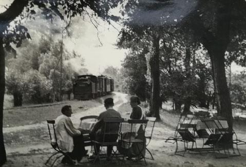 Kleinbahnbei Bürgermühle 1930 (Quelle: Museum Jüterbog)