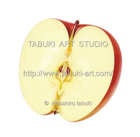 つがるりんご半切 RD10619