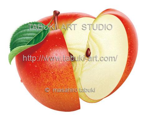 リンゴ切り RD10623