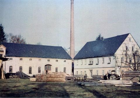Bild: Wünschendorf Erzgebirge Gebert Holztransport Schrötermühle