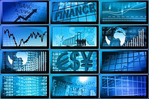 Analysten bewerten Finanzwerte wie z.B. Unternehmen