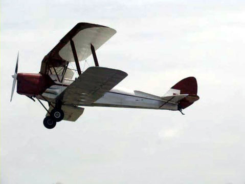 Example of a bi-plane from 1930