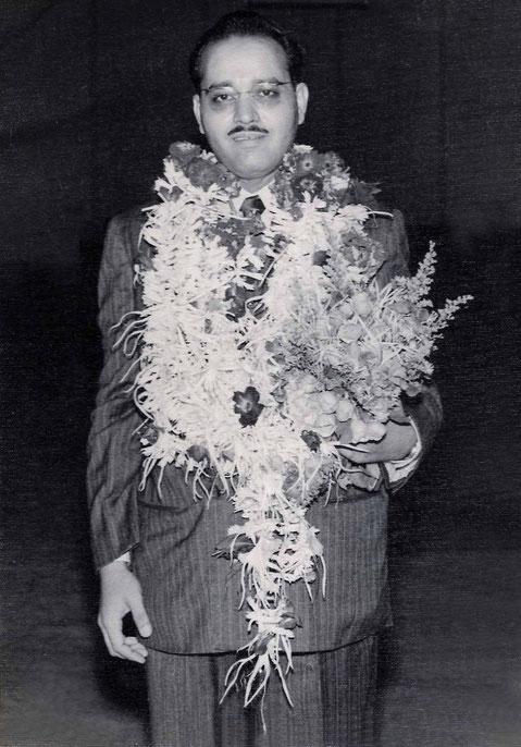 9th September 1956. Image courtesy of Mani Kelkar