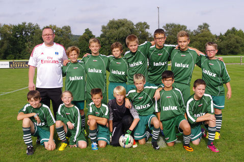 Minimes Entente Biwer-Berbourg Saison 2013/2014