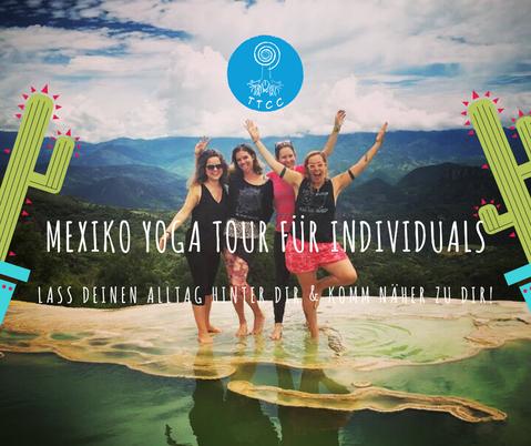 Yoga Tour Mexikoreise Yoga in Mexiko Yogaretreat Bacalar Palenque Posada Lulu