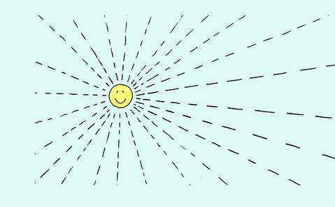Das Licht der Sonne