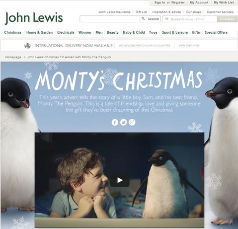 ジョン・ルイス:2014年クリスマスコマーシャル