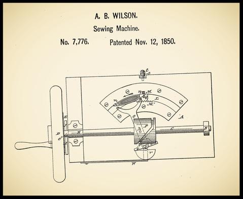 US 7.776 November 12, 1850 - A. B. Wilson