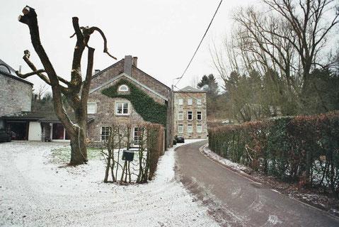 La route du moulin fevrier 2009