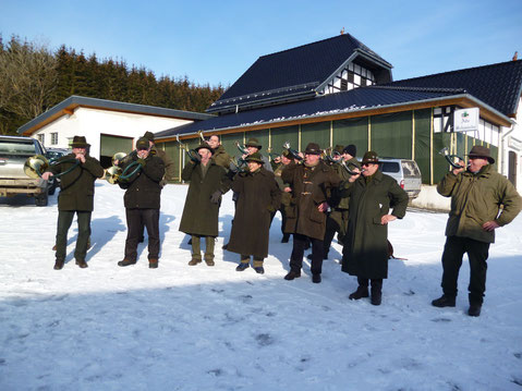 Kreisweite Fuchsjagd, Feb. 2012