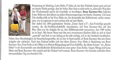 Artikel aus der Festschrift z. 37. Saseler Heimatfest (2012)