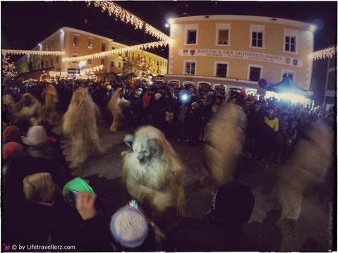Perchtenlauf - Perchten - Krampuss - Mondsee - Mondseeland - Lifetravellerz - Reiseblog