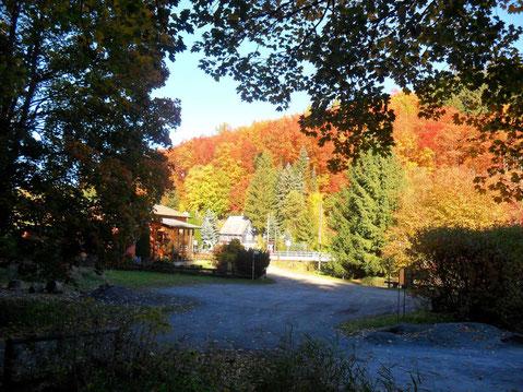 Ankunft in Dittersdorf