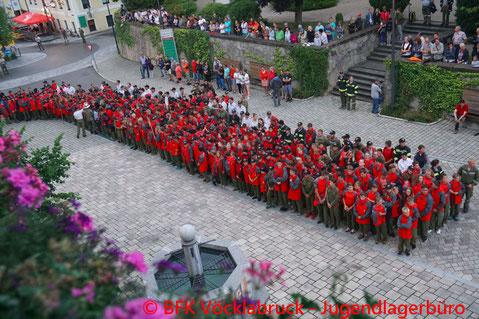 © Bezirksfeuerwehrverband Vöcklabruck - Jugendlagerbüro