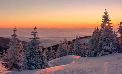 Zweiter Platz Winterlandschaft am Gaberl