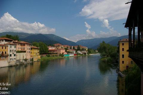 Blick auf Bassano del Grappa
