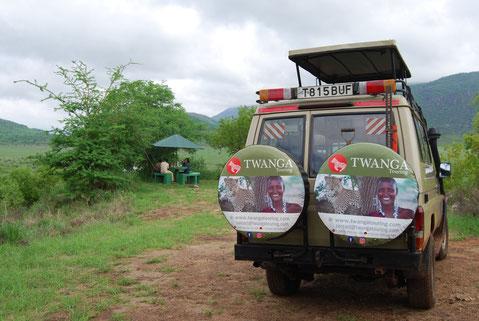Safari im Mkomazi Nationalpark