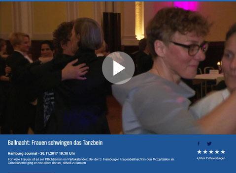 die 3. Frauenballnacht Hamburg - ein Beitrag des NDR