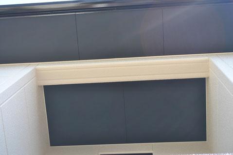 熊本市M様邸の外壁塗装軒天ブラック塗装完成。