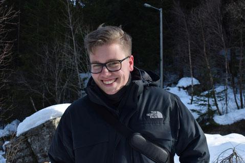 Immanuel bei einem Ausflug nach Norwegen