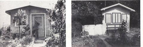 Gartenlauben aus der Gründerzeit